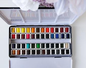 Daniel Smith Extra Fine Watercolor sticks 1/8 cut sample