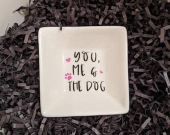Me /& the DogCat Ring Dish You