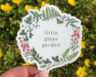 Little Glass Garden Logo Sticker