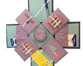 Etui Box (Exploding box) Sewing Pattern
