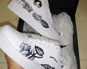 Painted sneakers | Etsy
