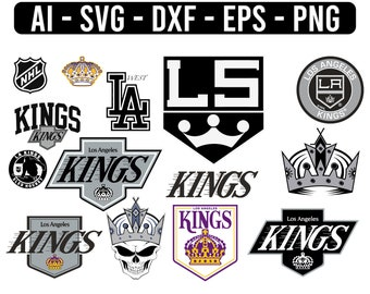 Kings Logo Svg Etsy