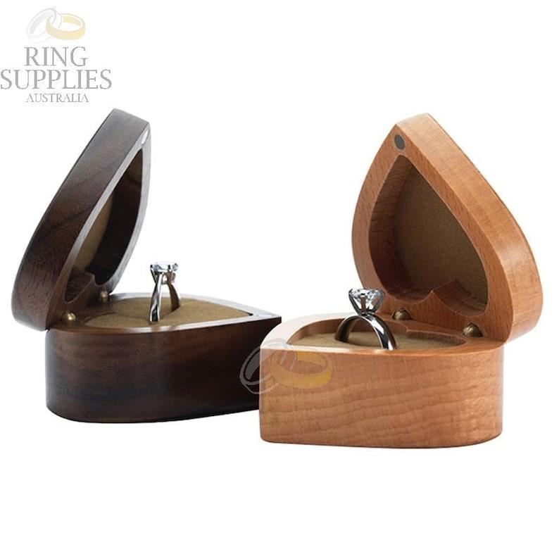 Heart Shaped Ring Presentation Box