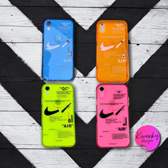 Nike Off White Phone Case / iPhone 7 / 8 / Plus / XR / X / XS   Etsy