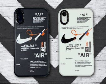 Nike Off White Custom iPhone Phone Case / For iPhone 7 / 8 / Se / X / XS / Max / XR / 11 / 12 / Pro / Pro Max / Uv Printed in the UK