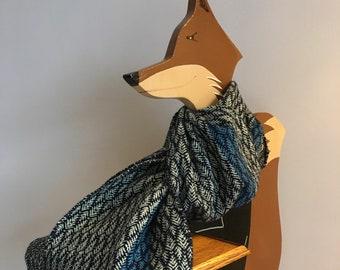 Hand Woven Kia Ora Scarf - Cashmere and Merino Wool