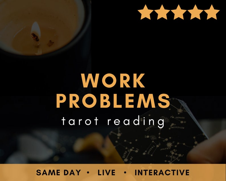 LIVE Work Problems Career Tarot Reading  Psychic Oracle Real image 0