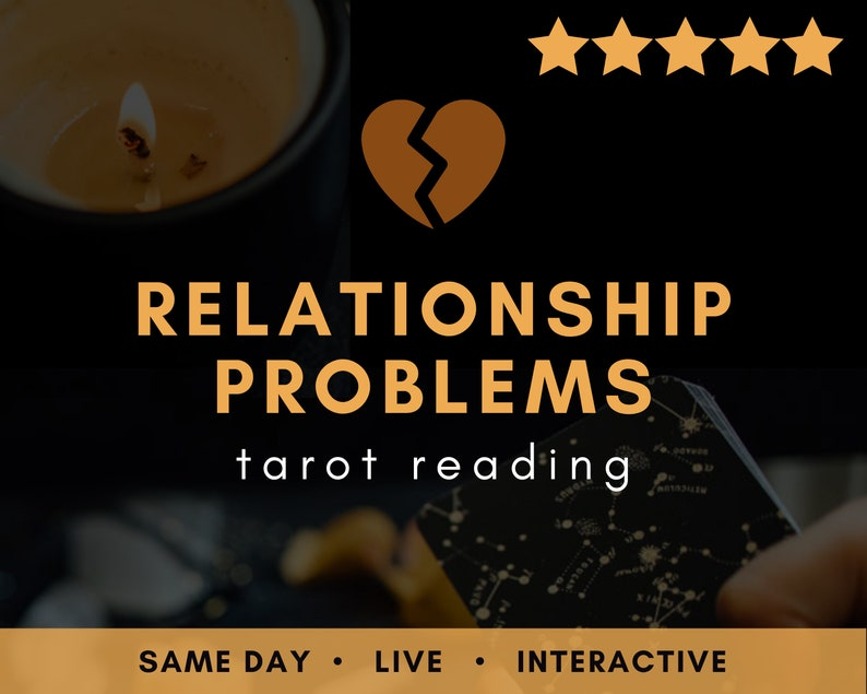 Same day LIVE Relationship Problems Tarot Reading  Psychic image 0