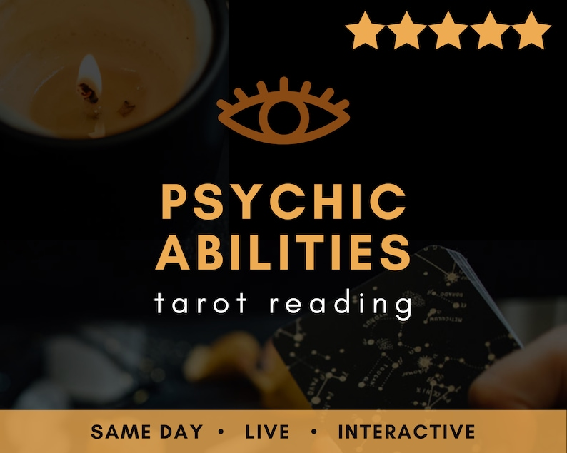 Same Day LIVE Psychic Abilities Tarot Reading  Real Am I image 0