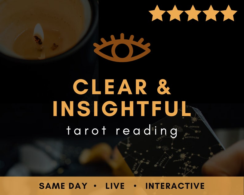 Same Day LIVE Clear & Insightful Tarot Reading  Real Love image 0