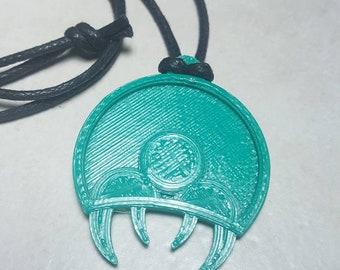 3D Print Metroid Inspired Pendants Necklace Gamer Geek Nerd Super Metroid