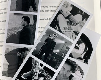 my policeman +2 Harry styles photo bookmark set