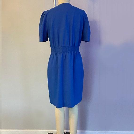 80's Puff Sleeve Dress - image 4