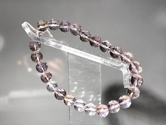 Silver cuff with Crystal Quartz Citrine and Garnet stones  Silver Bracelet  Modern Silver Jewellery Amethyst Peridot