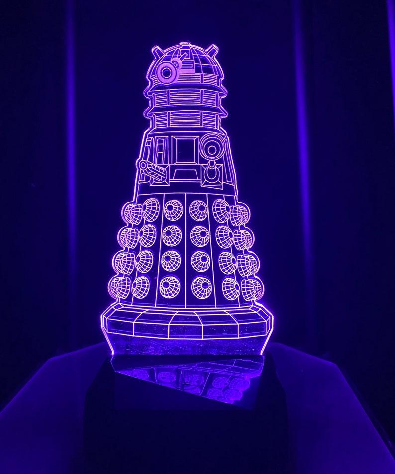 light Dr. who Dalek