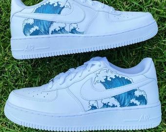 Nike Air Force 1 Poisson chinois sur mesure | Etsy