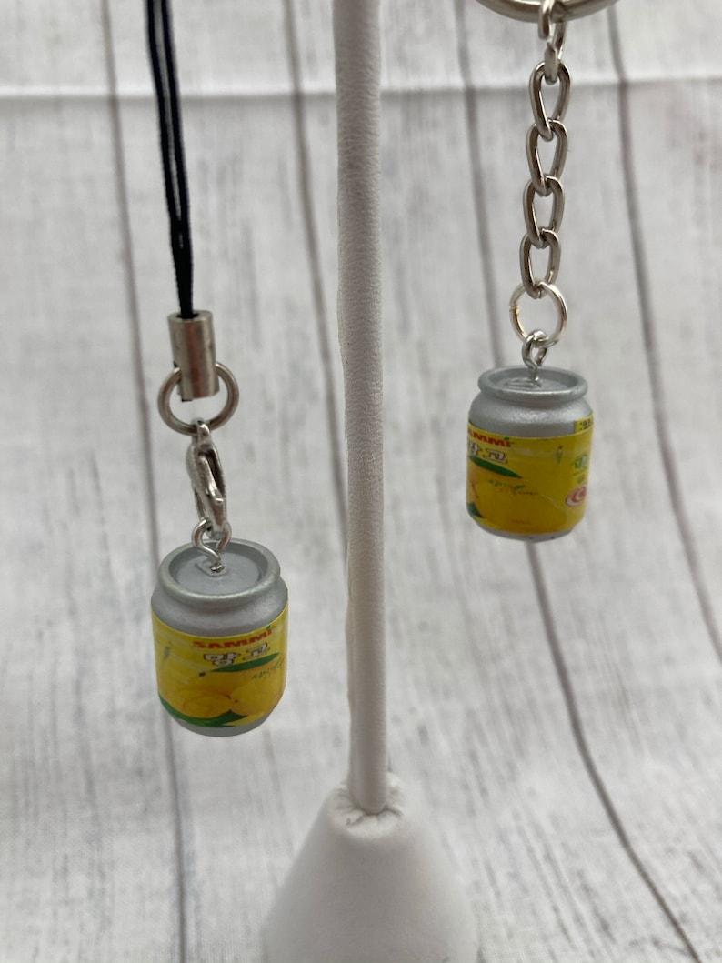 Korean Drink Oriental Asian Food Charm Necklace