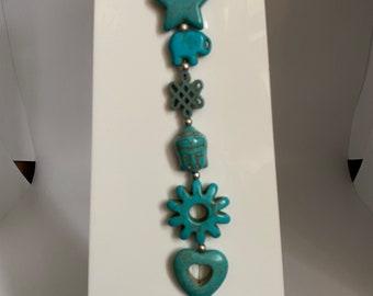 Turquoise Howlite Joy String