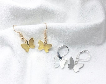 Purple Agate Earrings Industrial Earrings Silver Forged Earrings Silver Art Deco Earrings Earrings for Summer Wedding Summer