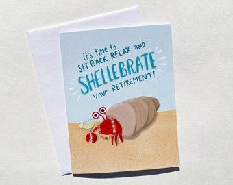 Shellebrate Retirement Card