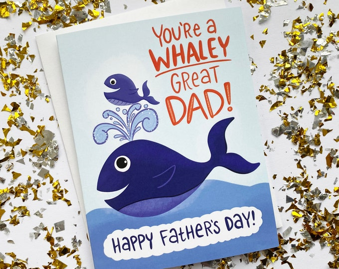 Featured listing image: Whaley Great Dad Fathers Day Card