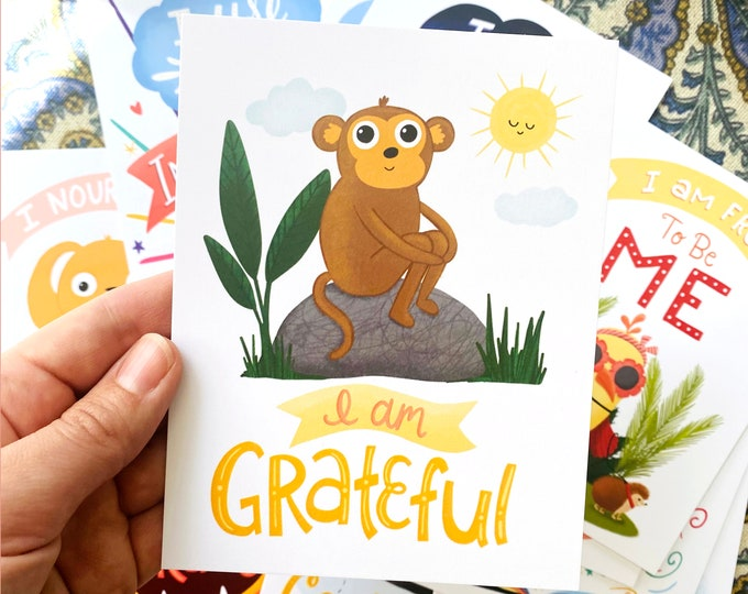 Featured listing image: Affirmation Cards for Kids