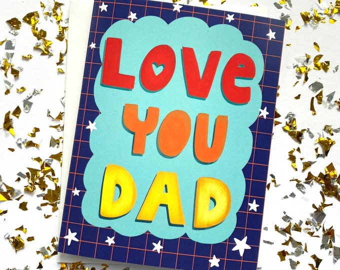 Featured listing image: Love You Dad Card