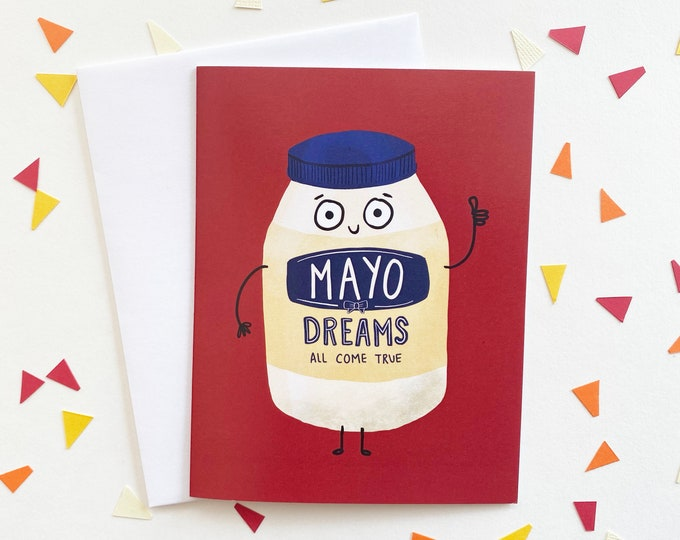Featured listing image: Mayo Dreams Come True Card