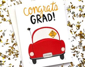 Degree on Board Graduation Card