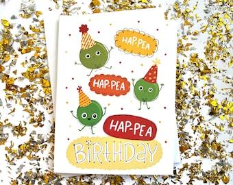Happy Birthday Card, Punny Cards, Cute Birthday Card, Funny Birthday Card, Brother Birthday Card, Best Friend Birthday Card