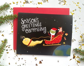 Season's Greeting Earthling