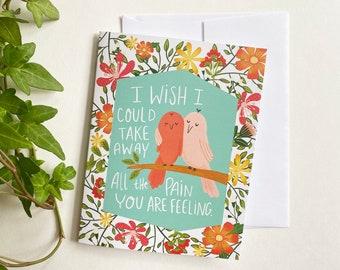 Birds Sympathy Card