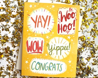 Congrats, Woohoo!