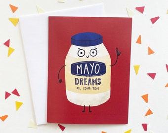 Mayo Dreams Come True Card