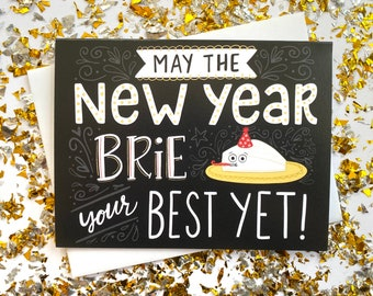Brie New Years Card