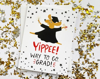 Dog Graduation Card