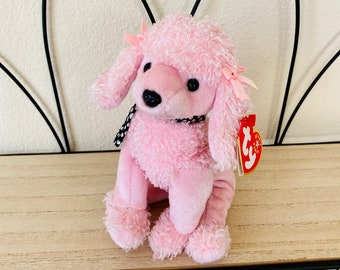 Vintage Brigette the Pink Poodle - Retired Beanie Baby