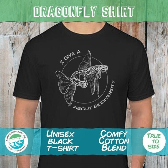 DragonFly Shirt, Give a F about Biodiversity