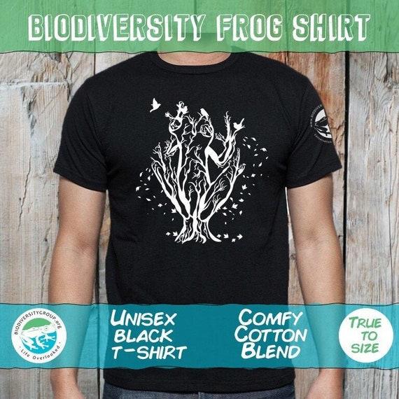 Biodiversity Frog Shirt, Unisex