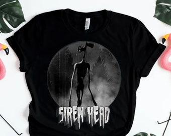 Siren Head Shirt Roblox Id Character Head Etsy