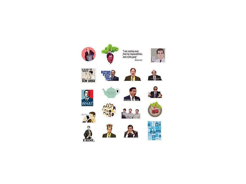 The Office Stickers 50 Pcs Meme Stickers
