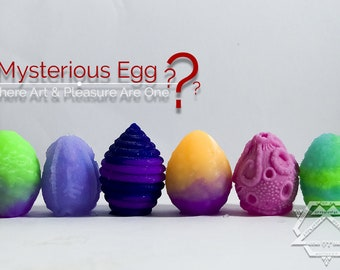 Mysterious Egg - alien sex toy - egg sex toy - silicone egg