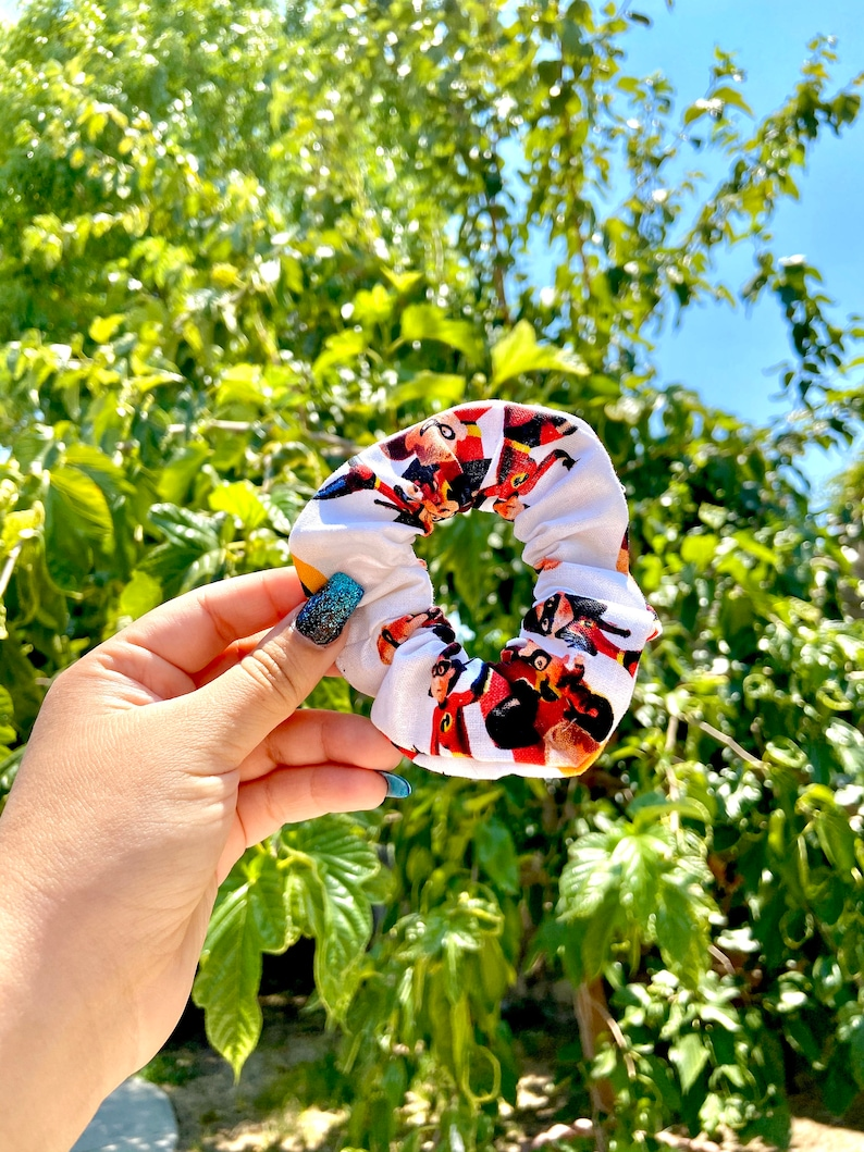 Scrunchie  The Supers  The Incredibles  Hair  Accessories Custom Daytime Hair Tie  Colorful Hair Accessories Scrunchies BT21