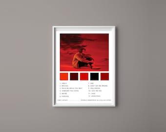 Lewis Capaldi INSPIRED Poster//Print