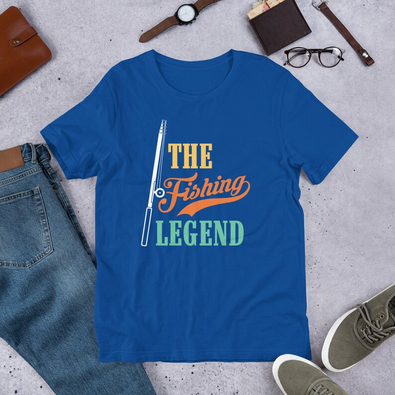 Birthday Party T-Shirt VC1934 Father/'s Day Gift Matching Family Fishing Lover Party T-Shirt Family Birthday Fishing Lover T-Shirt