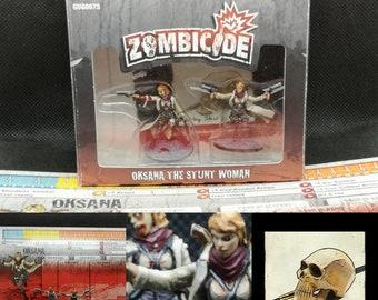 Zombicide Surivivor oksana kickstarter exclusive