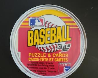 1987 Topps Wax Pack Baseball Card Wrapper Coaster Circle