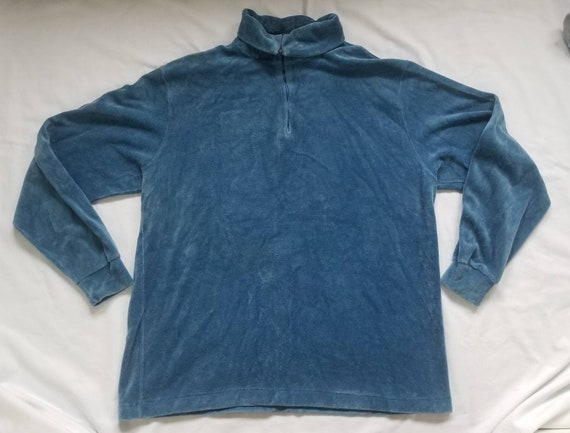 Vintage Rike's Velour Pullover Sweater - image 1