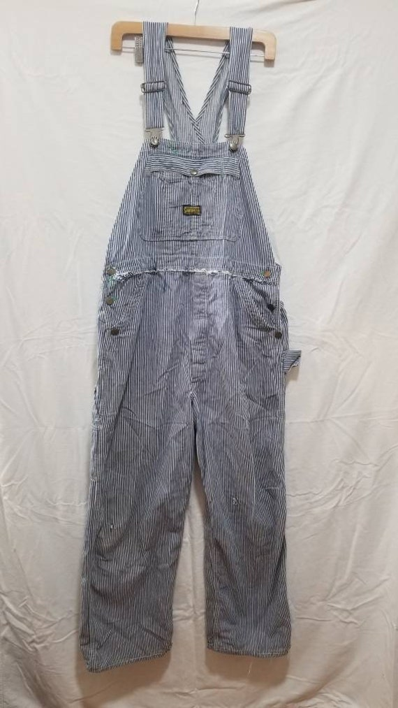 1970's Sanforized Pinstriped Overalls