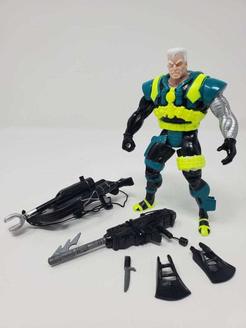 1994 Toybiz Marvel Cable Deep Sea Action Figure X-Men X-Force